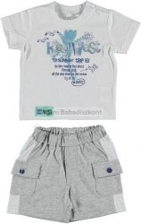 iDo Miniconf 2 részes pamut poló+nadrág #fiú