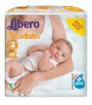 Libero pelenka 2-es mega pack 3-6kg #108db