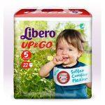 Libero UP&GO pelenka 5 AKCIÓ #22db