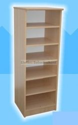Kinder Möbel Dani Nyitott polcos szekrény #bükk-vanilia