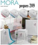 Mora Peques babapléd 80x110cm#10 White