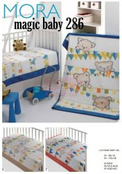 Mora Magic Baby 286 babapléd 80x110cm #02 Beige