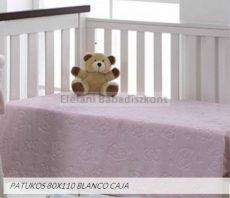 Mora Patukos babapléd 80x110cm #964 pink