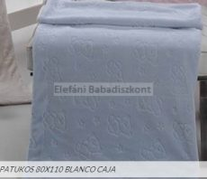 Mora Patukos babapléd 80x110cm #964 azul