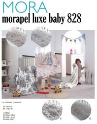 Mora Lux Baby 828 babapléd 80x110cm #04 Rose