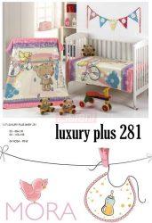 Mora Lux Plus Baby 281 babapléd 80x110cm #04 Pink