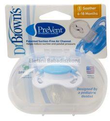Dr Brown's Prevent játszócumi 6-18hó #Kék