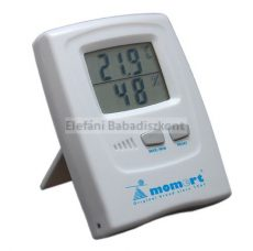 Momert digitális szobai pára- és hőmérő #1756