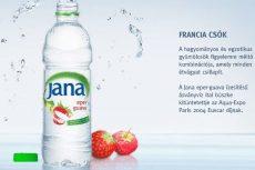 Jana Szénsavmentes Ásványvíz eper-guava AKCIÓS! #0,5 L