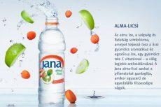 Jana Szénsavmentes Ásványvíz alma-licsi AKCIÓS! #1,5 L