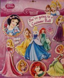 Marko falidekor 3D hercegnők #sph-118