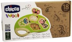 Chicco Fa játék puzzle szafari