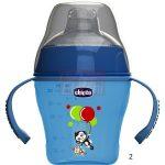 Chicco Soft Cup szilikon csőrös itató 200 ml