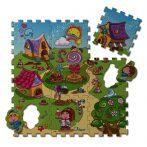 Chicco Puzzle szőnyeg #Candy Village