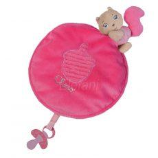 Chicco Szundikendő plüss #rózsaszín