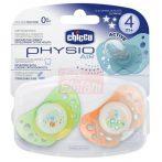 Chicco Physio Air Játszócumi 4hó+ 2db #világító
