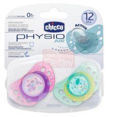 Chicco Physio Air Játszócumi 12hó+ 2db #pink-zöld