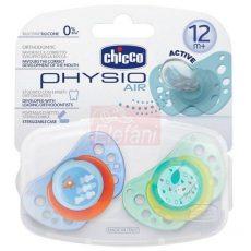 Chicco Physio Air Játszócumi 12hó+ 2db #kék-zöld