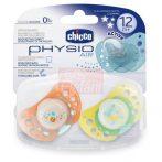 Chicco Physio Air Játszócumi 12hó+ 2db #világító