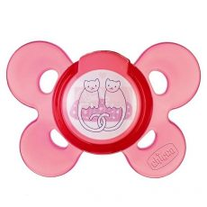 Chicco Physio Comfort Játszócumi 4hó+ #pink