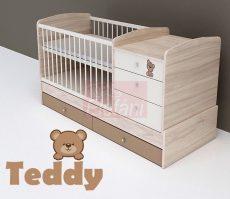 TODI Teddy Kombi babaágy (4 csomagos)
