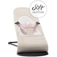 BabyBjörn Soft pihenőszék Cotton/Jersey #Beige/Grey