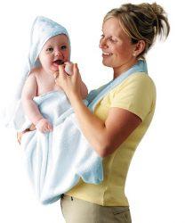 Clevamama babatörölköző #kék