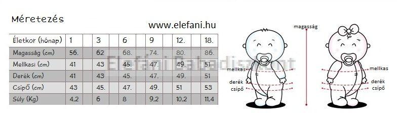 iDO Miniconf 2 részes pamut poló+nadrág
