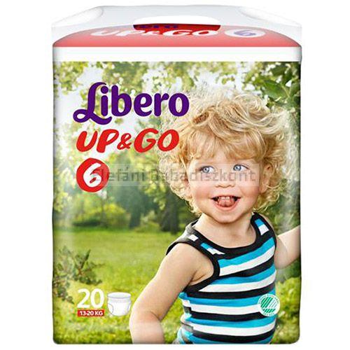 Libero up&go 6 pelenka XL 13-20kg AKCIÓ #20db