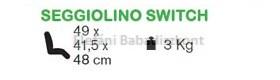 Peg Perego Sportrész Switch #Luna