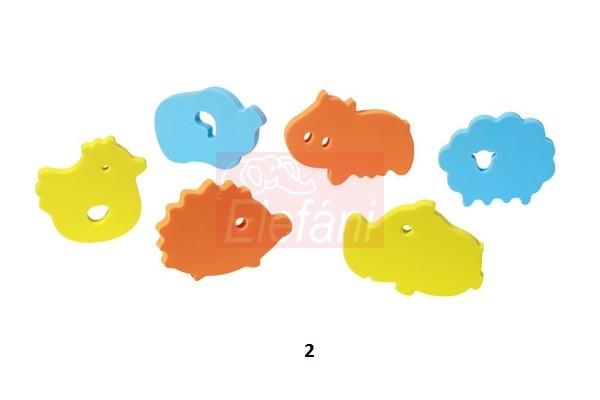 BabyOno Fürdőjáték puzzle 6db #534