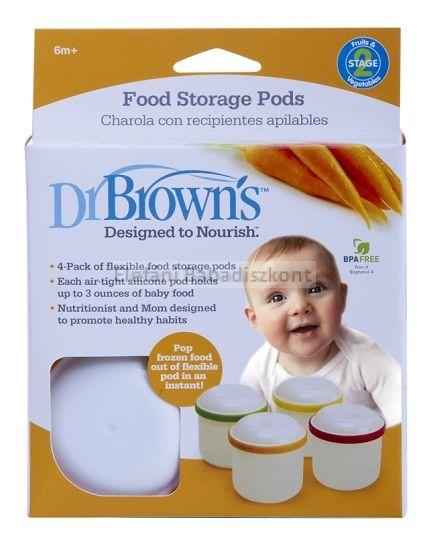 Dr Brown's Ételtároló doboz #4db