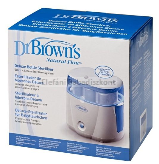 Dr Brown's Delux elektromos sterilizáló