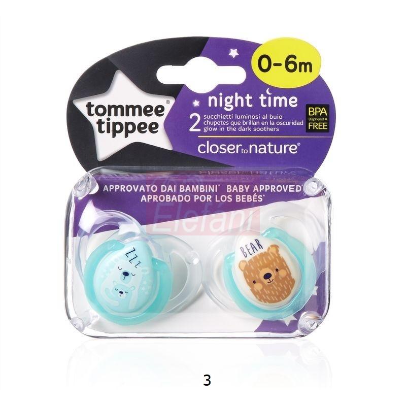 Tommee Tippee ctn Night time altatócumi 2db #0-6hó