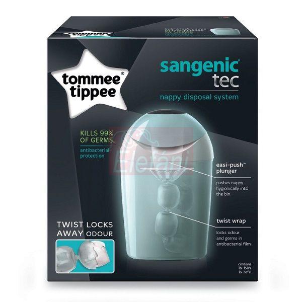 Tommee Tippee Sangenic TEC pelenkatároló #Zöld