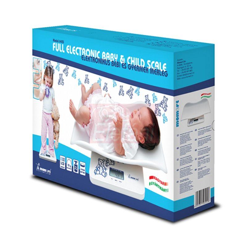 Momert Elektronikus baba- és gyerekmérleg #6425