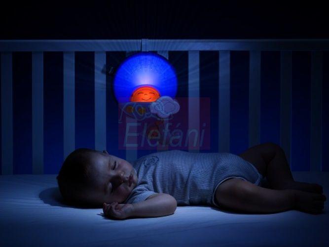 Chicco Naplemente - Napfelkelte projektor #kék