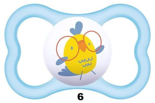 Mam Air szilikon játszócumi #6+