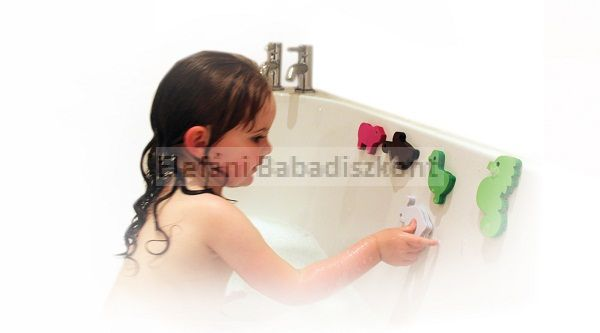 Clevamama fürdő játékok és tartóháló