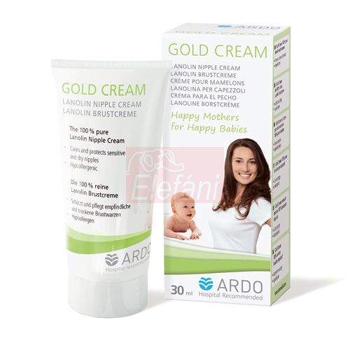 ARDO Gold Cream Mellbimbóápoló krém #30ml