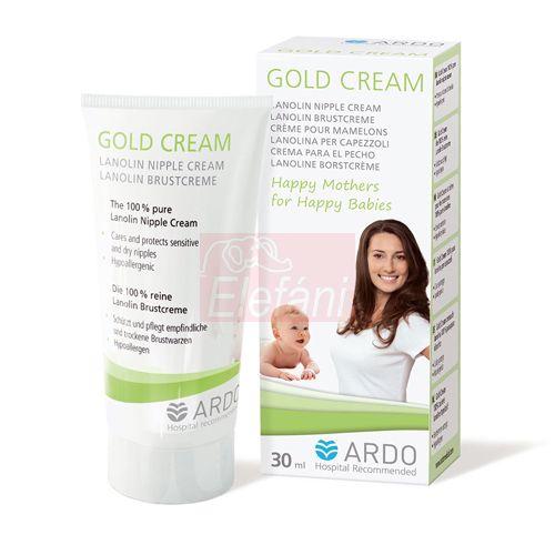 ARDO Gold Cream Mellbimbóápoló krém #30ml