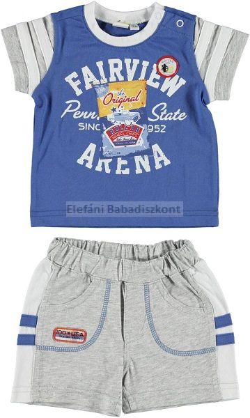 iDO Miniconf pamut póló +nadrág