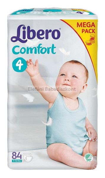 Libero comfort pelenka 4  7-14kg AKCIÓ #84db