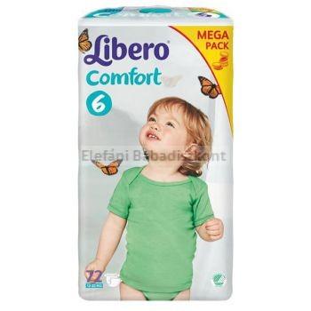 Libero comfort pelenka 6  12-22kg AKCIÓ #72db