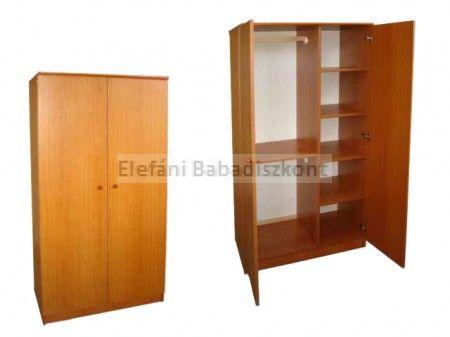 Kinder Möbel Rita 2 ajtós szekrény #cseresznye ** CSAK SZEMÉLYES ÁTVÉTEL LEHETSÉGES!