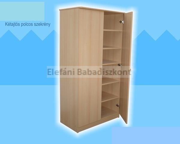 Kinder Möbel Rita 2 ajtós szekrény #bükk-vanilia ** CSAK SZEMÉLYES ÁTVÉTEL LEHETSÉGES!