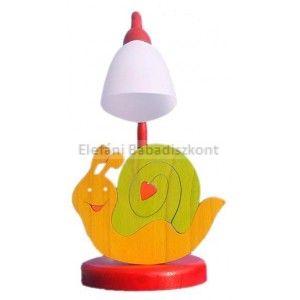 Gabeliz Fa asztali lámpa #csiga