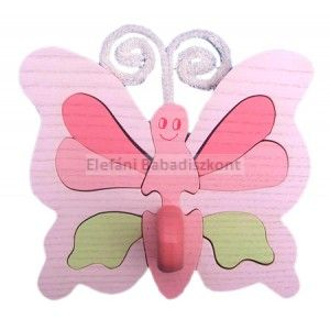 Gabeliz Fa minifogas #pillangó rózsa-zöld