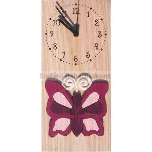 Gabeliz Falióra #álló pillangó bordó