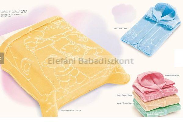 Baby Perla Puha takaró #517 Yellow